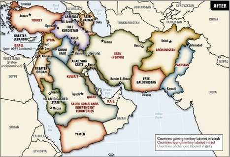 """Blood Borders: A Proposal To Redraw A """"New Middle East"""" 