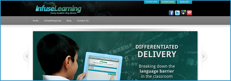 INFUSELEARNING: A BREAKTHROUGH VIRTUAL LEARNER RESPONSE SOLUTION - The Educator's PLN   InfuseLearning   Scoop.it