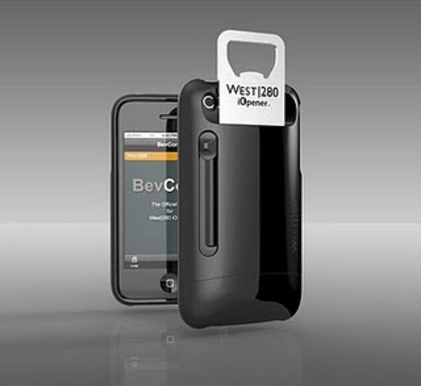 IOpener, a Bottle-Opening Case for the iPhone | All Geeks | Scoop.it