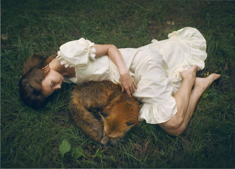 Meet The Photographer Who Uses Real Animals In Her Dreamy Portraits | a photographer's life | Scoop.it