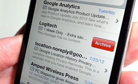 "iPhone tip: Where do I find my ""archived"" e-mail messages? (reader mail) 