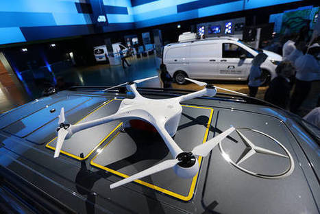 Daimler to Work With Matternet to Develop Delivery Van Drones | Post-Sapiens, les êtres technologiques | Scoop.it