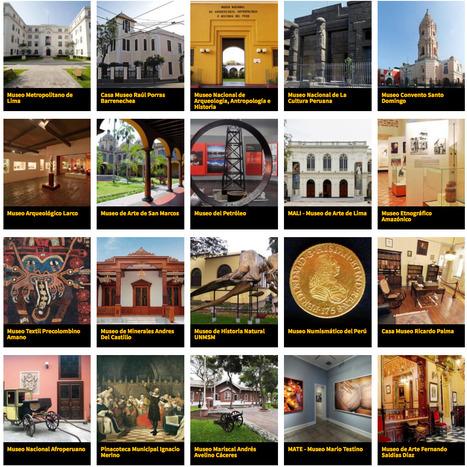 Agenda Cultural En Lima:  Listado de los museos y galerías de la ciudad de Lima - Perú | MAZAMORRA en morada | Scoop.it