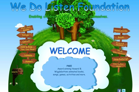 Great Primary Classroom Resources for Self-Esteem The We Do Listen Foundation | Collaboration in teaching and learning | Scoop.it