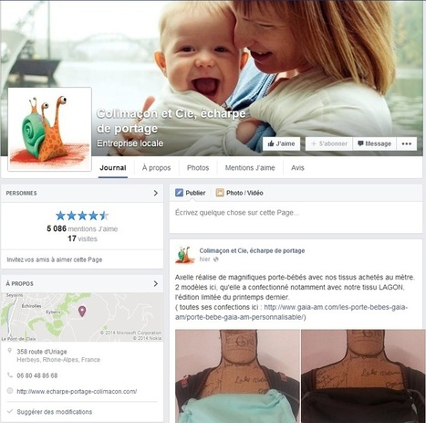 Développer son activité professionnelle grâce à Facebook : témoignage d'une TPE | CDI RAISMES - MA | Scoop.it