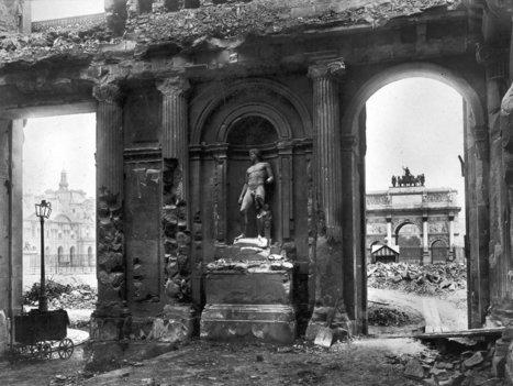 1871 - La destruction du Palais des Tuileries | GenealoNet | Scoop.it