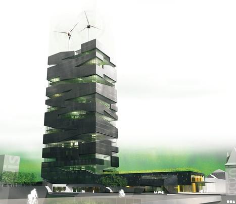 SOA Architectes Paris : La Tour Vivante | Green Architecture | Scoop.it