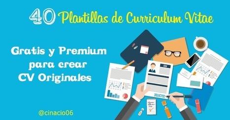40 Mejores Plantillas Curriculum Vitae para crear CV en 2016 | cinacio06 | Scoop.it