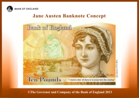 Jane Austen elbows her way into the world of male-dominated British banknotes   Adventures Of A Working Woman   Scoop.it