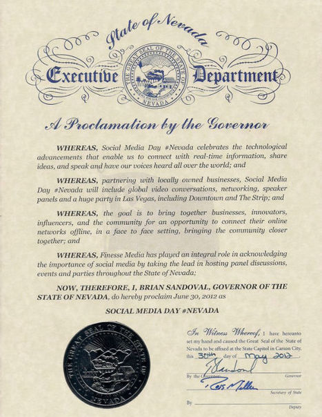 Nevada Declares June 30 Social Media Day | Social Media & Networking | Scoop.it