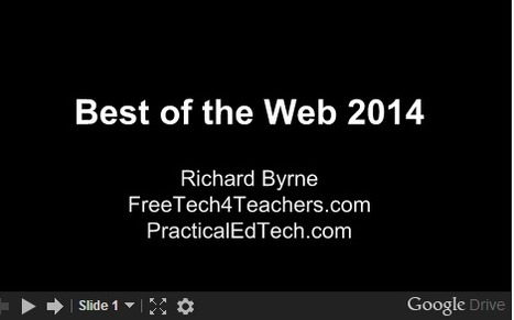 Free Technology for Teachers: Best of the Web 2014 | Technology in Education | Scoop.it