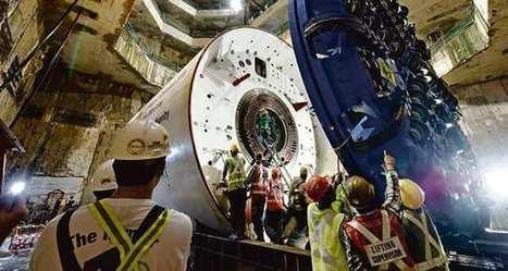 Le fabricant de tunneliers Herrenknecht fait la course   Le Grand Paris sous toutes les coutures   Scoop.it