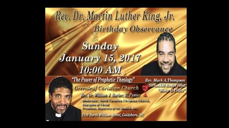 """Greenleaf MLK Observance Service with Guest Speaker Rev. Mark Thompson"" 