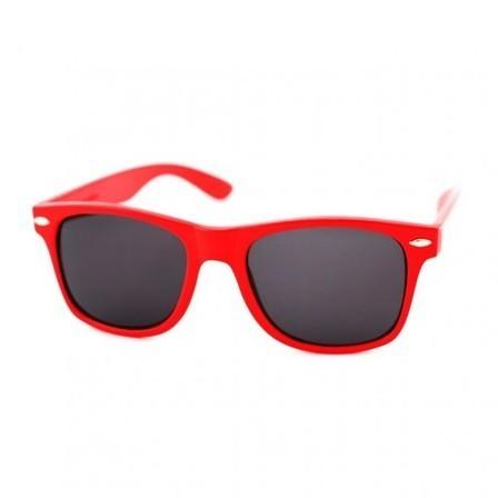 c2287dd5ca905e Lunette Style Wayfarer Rouge - Lunettes Vintage Rouge