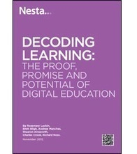 "Informe  ""Decoding learning. The proof, promise and potential of digital education"" 