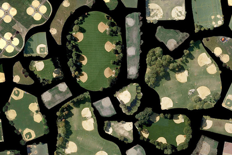 Mosaics of images snatched from Google satellite view | visual data | Scoop.it