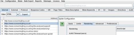 Screaming Frog SEO Spider Version 6.0 | Veille SEO - Référencement web - Sémantique | Scoop.it