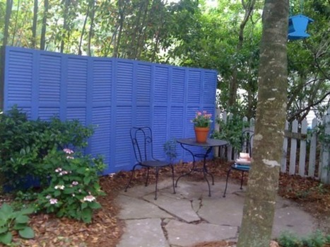Shutters in the garden | Upcycled Garden Style | Scoop.it