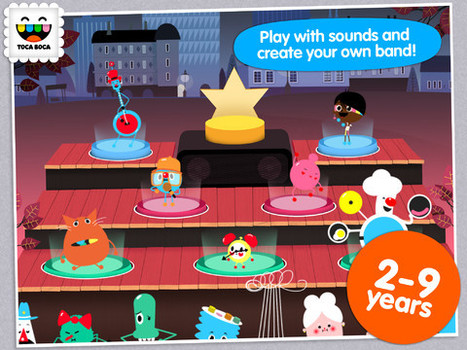 Toca Band Hits Your iPad Stage with a Brand New App! | TiPS:  Technology in Practice for S-LPs | Scoop.it