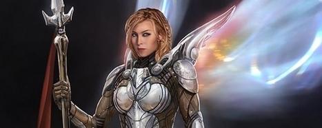 Des concept arts de personnages inédits pour Thor - COMICSBLOG.fr | Concept art, Painting & Illustration | Scoop.it