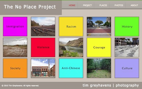 No Place Project- Tim Greyhavens | Chinese American history | Scoop.it
