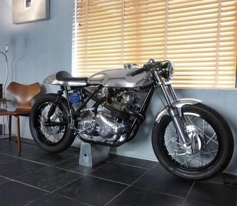 Ed Norton Commando Cafe Racer - Grease n Gasoline | vintage motos | Scoop.it