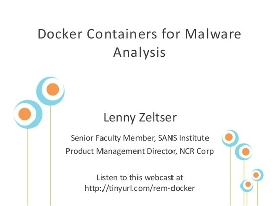 Docker Containers for Malware Analysis | Docker
