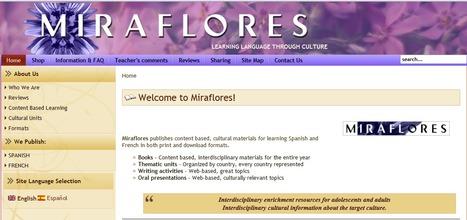 Miraflores Editorial | Materials for Spanish class | Scoop.it
