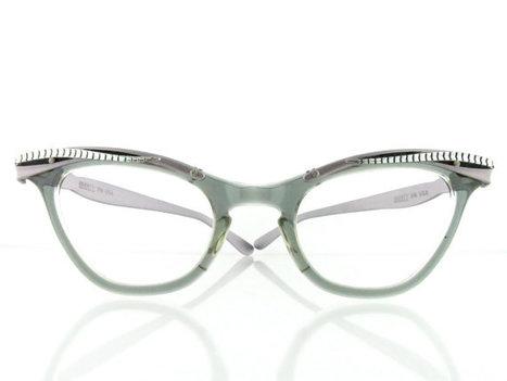 606b97efdd Vintage 1950 s Liberty cat eye eyeglasses frames by OldFocals