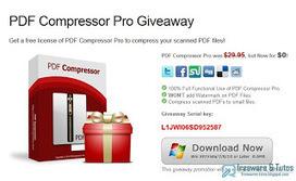 Offre promotionnelle : PDF Compressor gratuit ! | Freewares | Scoop.it