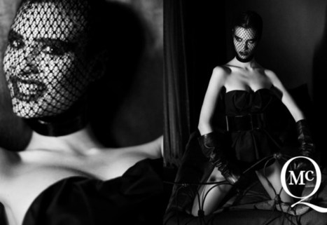 McQ by Alexander McQueen's Spring 2013 Campaign Takes on Fetish Style with Manon Leloup | Self Bondage Magazine | Scoop.it