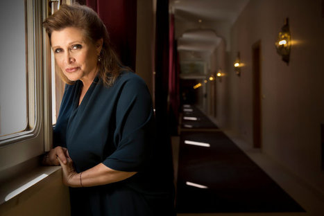 Carrie Fisher's Fans Find Solace in Her Books | Writers & Books | Scoop.it
