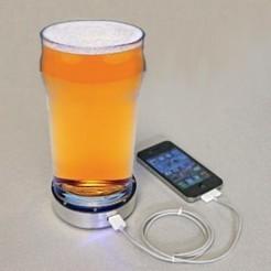 Charger son téléphone avec une bière fraîche   Le Monde de la bière   Scoop.it
