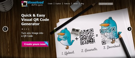 Visualead | Easy Visual QR Code Generator | Social media - E-reputation | Scoop.it