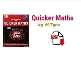 Quicker Maths Pdf