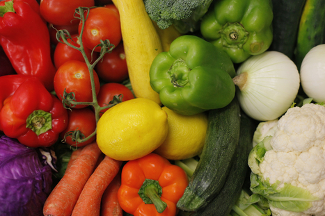 Eating more veggies, fruit can make you happier | Middays with Becky in DC | Scoop.it
