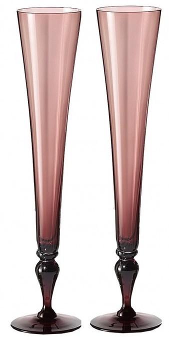 VENETIAN GLASS: Wedding Champagne Flutes in Purple | Venetian Glass Site | Venetian Glass Home of Authentic Murano Glass | Scoop.it