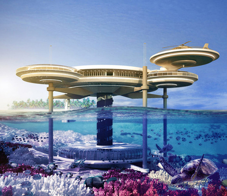 Beautiful, Futuristic Hotel Designed To Cope With Rising Sea Levels | sustainable architecture | Scoop.it