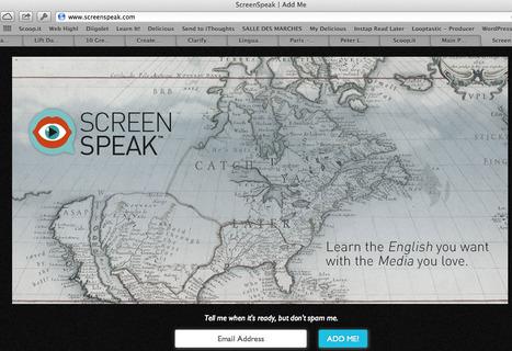EN: ScreenSpeak - innovators in language learning at LinguaCamp | LinguaCamp | Scoop.it