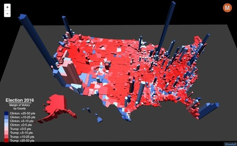 Election Results in the Third Dimension | Geography Education | Scoop.it