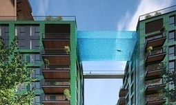 Would you take a dip 35 metres up in London's first 'sky pool'? | Geography & Current Events | Scoop.it