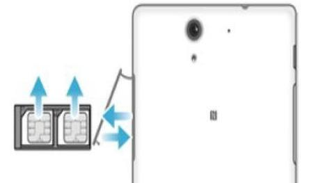 How To Insert SIM Card - Sony Xperia C3 Dual -