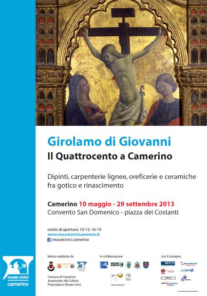 Girolamo di Giovanni: il Quattrocento a Camerino | Le Marche un'altra Italia | Scoop.it