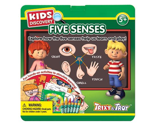 Best Educational Toys 2012 : Jigsaw puzzle five sense organs learning ki