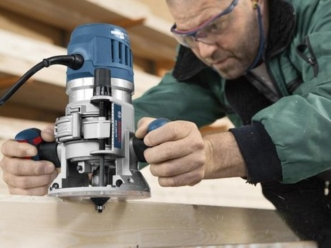 Nouvelles défonceuses Bosch GOF et GMF: 1600 W de précision   Ma TOOL BOX   Bâtiment, Bricolage   Scoop.it