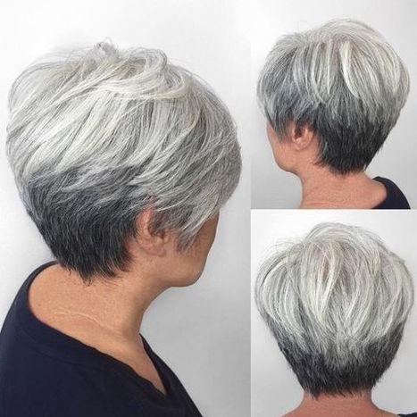 Kurzhaarfrisuren Für ältere Damen Sin
