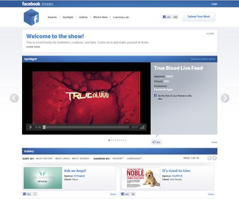 Digital Update : Facebook เปิด Facebook Studio เอาใจเหล่านักโฆษณา ... | Butthun | Scoop.it