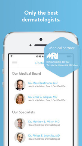 Klara - ask a dermatologist today | mHealth- Advances, Knowledge and Patient Engagement | Scoop.it