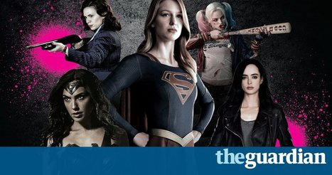 Fight the power: how the female superhero is finally taking flight | A2 Media Studies | Scoop.it