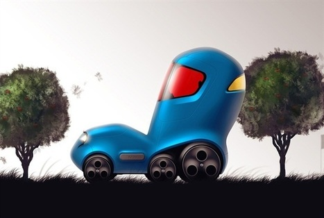 Nissan Creates Design Sketches From Children's Drawings | Cars and Road Safety | Scoop.it